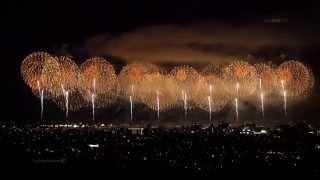2014 長岡花火 フェニックス [4K] Revival prayer fireworks【Phoenix】 2014年8月3日 Nagaoka Fireworks festival