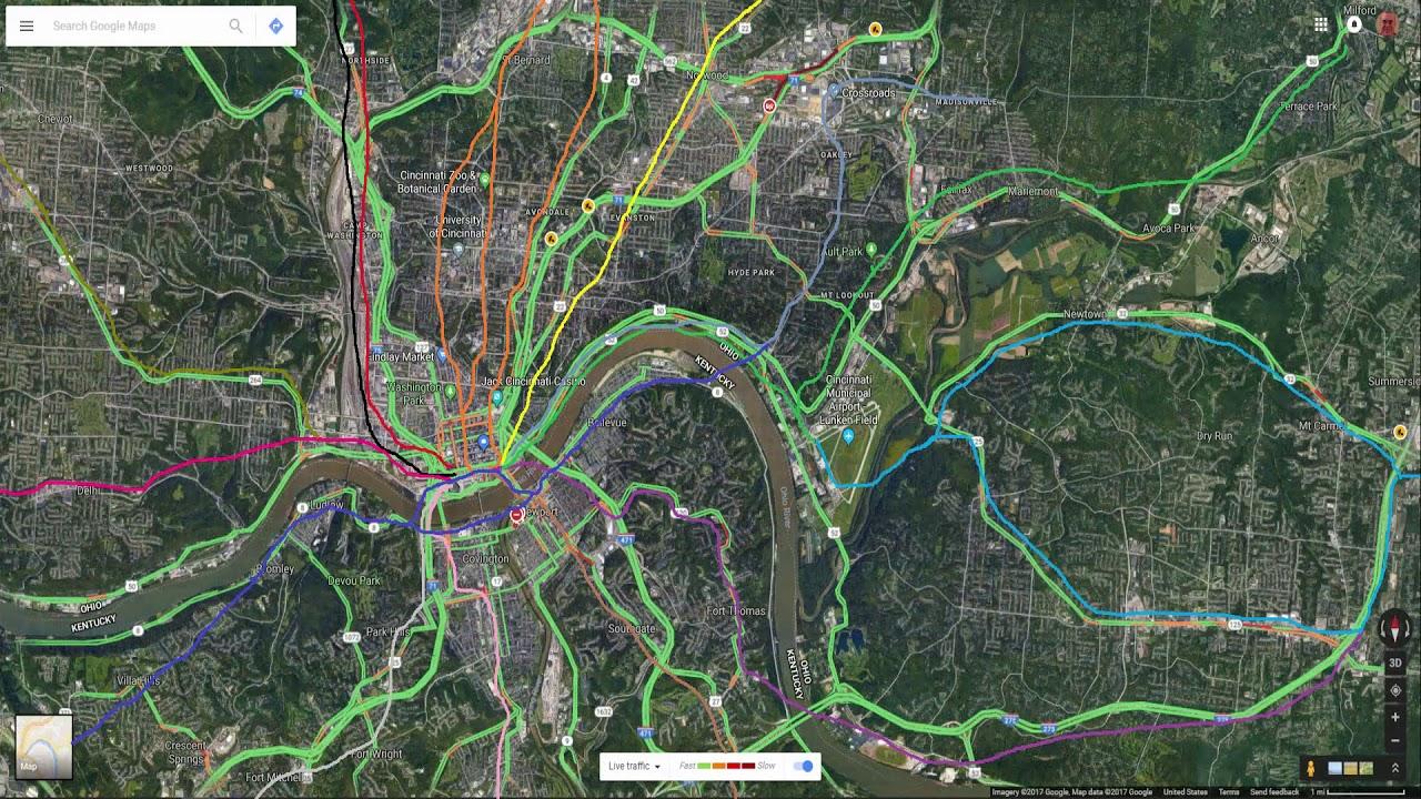 Cincinnati Subway Map.Reviving The Cincinnati Subway And Bringing It Back To Life