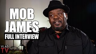 Mob James on Suge Knight, 2Pac, Death Row, Mob Piru, Brother's Murder (Full Interview)
