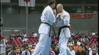 KYOKUSHIN KNOCKOUTS 8th World Open Karate Tournament pt.1