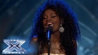 "Lillie McCloud Goes to ""Work"" - THE X FACTOR USA 2013"