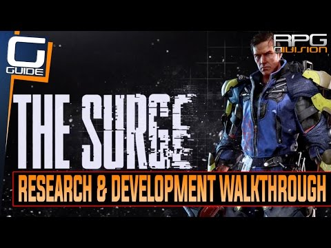 The Surge - Research & Development (4th Area) Walkthrough (Implants, Enemy Tips & Shortcuts)