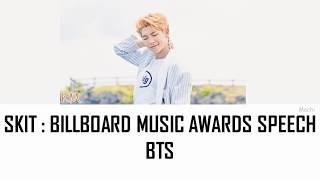 Video BTS (방탄소년단) - Skit : Billboard Music Awards Speech | Color Coded Lyrics | Han/Rom/Eng download MP3, 3GP, MP4, WEBM, AVI, FLV Juli 2018