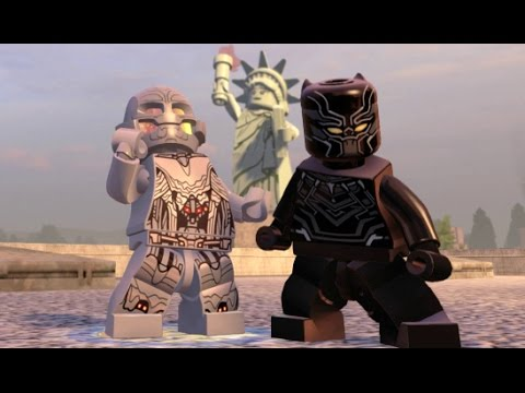 LEGO Marvel's Avengers - Financial District 100% Guide (All Collectibles)