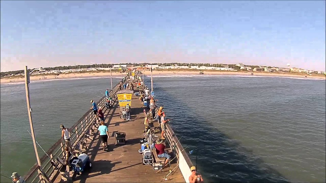 Emerald isle bogue inlet fishing pier emerald isle beach for Fishing report emerald isle nc