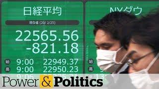 Coronavirus fears lead to stock market sell-off | Power & Politics
