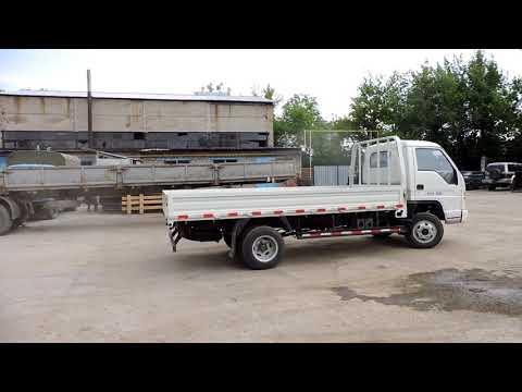 Обзор и тест-драйв китайского бортового грузовика Foton Forland, г/п 3 т, однорядная кабина