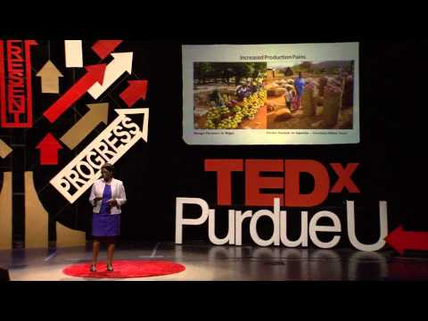 Waste Not Want Not: A Weapon For Food Security: Betty Bugusu at TEDxPurdueU