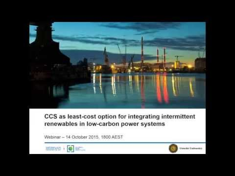 CCS as least-cost options for integrating intermittent renew