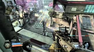 Titanfall Beta - Enemy Dropship Destroyed! - Attrition Multiplayer - Xbox One Gameplay
