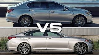 2019 Acura RLX vs 2018 Genesis G80