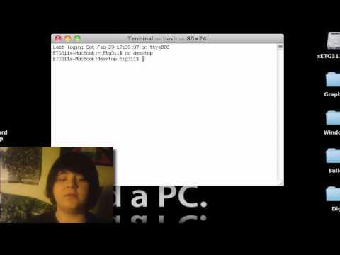 Unzip using terminal in mac 
