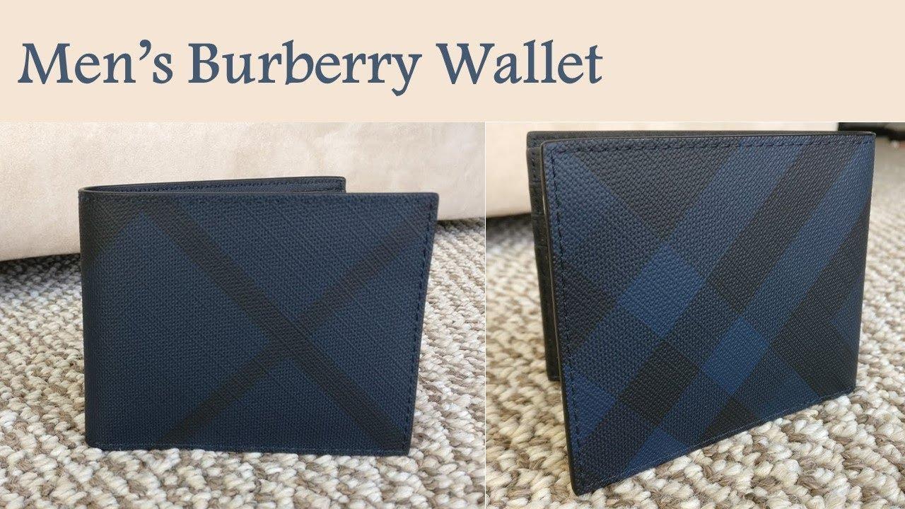 deft design release date: great discount sale Burberry Men's Wallet