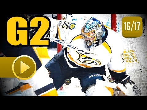 Nashville Predators vs Chicago Blackhawks. 2017 NHL Playoffs. Round 1. Game 2. 04.15.2017 (HD)