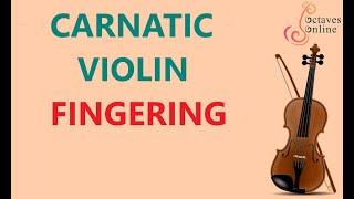 carnatic violin finger positions