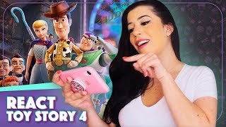 REACT TRAILER TOY STORY 4 | Toy Story 4 Trailer reaction | Vic View