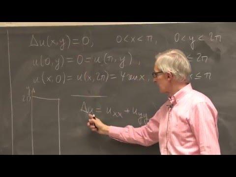 Problema de contorno para la ecuación de Laplace