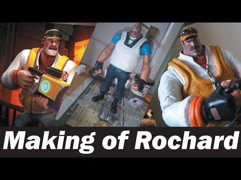 Making of John Rochard Figure