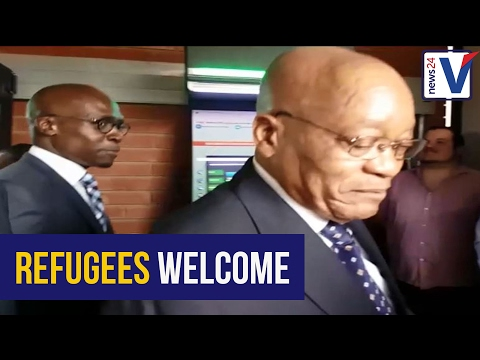 WATCH: Zuma re-launches Desmond Tutu Refugee Reception Centre in Pretoria