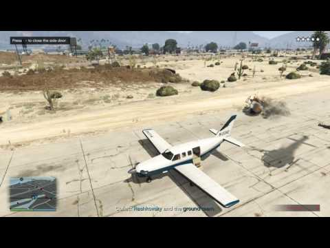 If you walk into a propeller you're gonna have a bad time redux - GTA Online The Prison Break