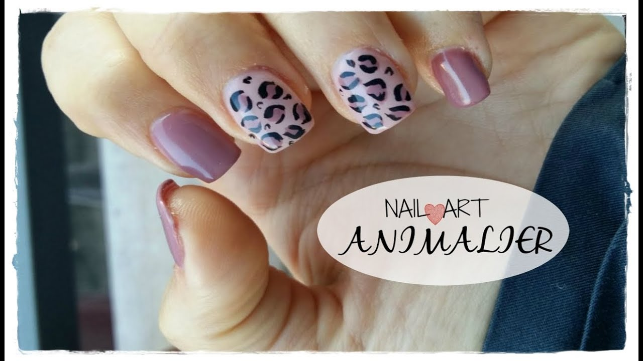 Nail Art Animalier Unghie Maculate Youtube