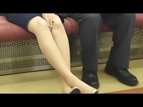 ちょいエロ 素人綺麗なお姉さんのパンスト タイツのちょいエロ動画   ver5
