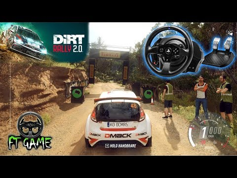 Dirt Rally 2.0 Gameplay and Thrustmaster Settings!