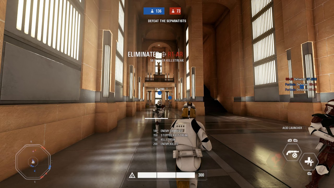 NABOO HANGER GAMEPLAY (ARCADE) - Star Wars Battlefront 2 - YouTube