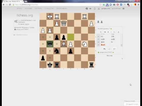Шахматы онлайн с компьютером.  Против 2200