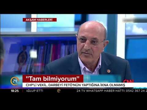 Bir televizyon programına konuk olan CHP'li vekil İlhan Kesici'den skandal FETÖ açıklaması