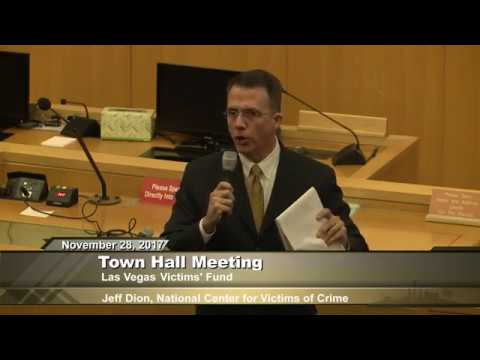 Las Vegas Victims' Fund Town Hall Mtg. (Evening Session)