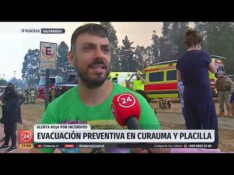 Alerta Roja Por Incendios Forestales En La Región De Valparaíso