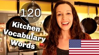 120 Kitchen Vocabulary Expressions: Advanced English Vocabulary Lesson