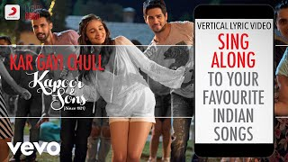 Kar Gayi Chull - Kapoor & Sons (Since 1921)| Bollywood Lyrics|Neha Kakkar|Badshah