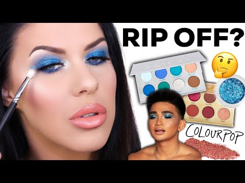 TESTING NEW RELEASES FROM COLOURPOP - BRETMAN ROCK COLLAB + COLOURPOP DRAMA!!??