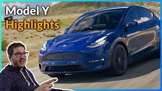 Tesla Model Y - Highlights der Präsentation
