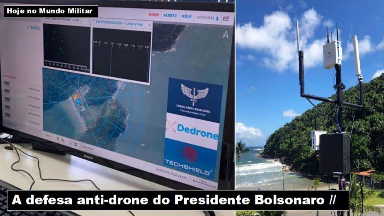 A defesa anti-drone do Presidente Bolsonaro