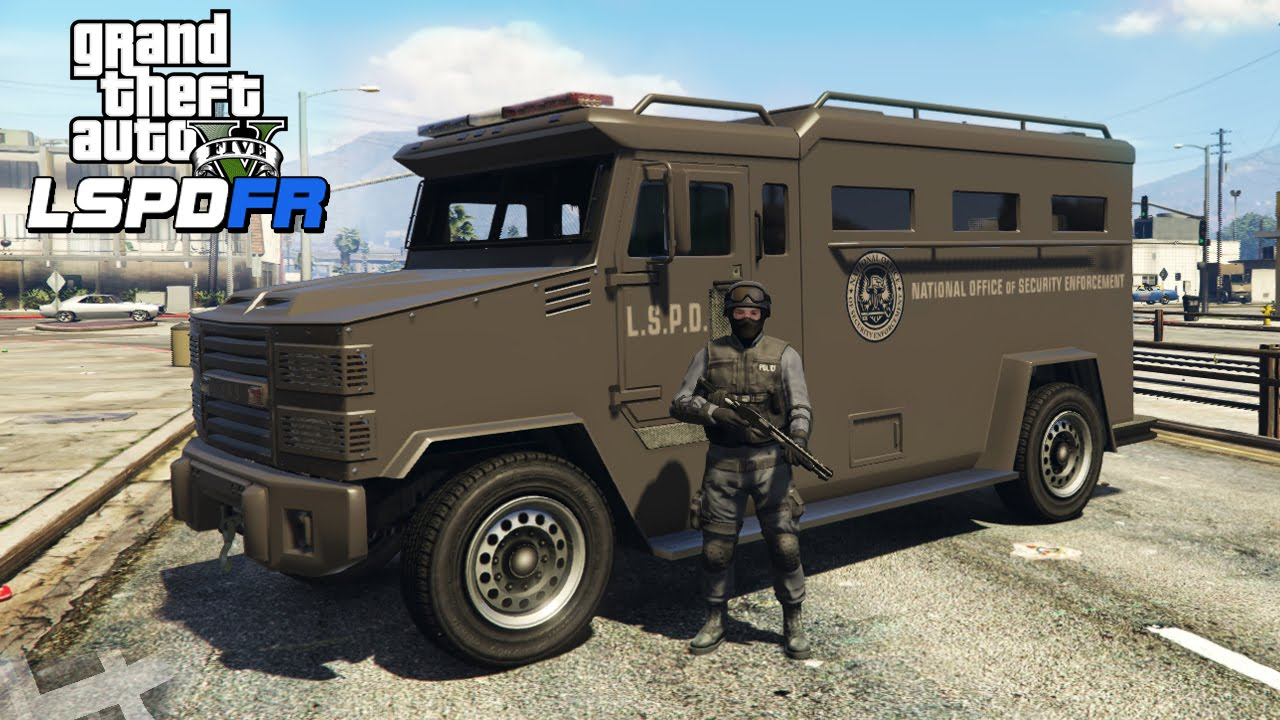 ★ GTA 5 - PLAYING AS SWAT! LSPDFR #3 (GTA V PC Mods Gameplay)