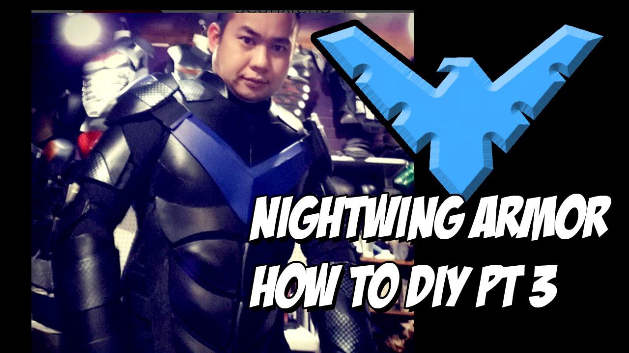 Nightwing how to diy cosplay costume body armor youtube nightwing how to diy cosplay costume body armor solutioingenieria Choice Image