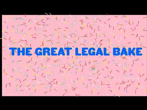 The Great Legal Bake 2018