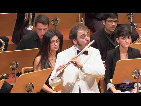 Mike Mower: Concierto para flauta y orquesta de viento. Sinfonietta, Orquesta de viento del CSMA