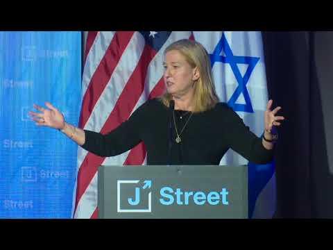MK Tzipi Livni Addresses J Street's 2018 National Conference