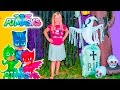 PJ Masks Spooky Treasure Adventure Hunt with the Assistant