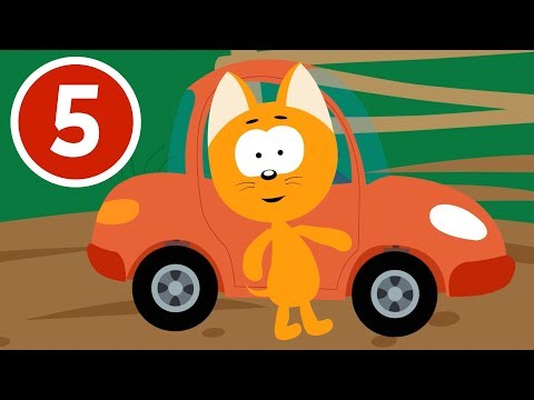 ПО УШИ В ГРЯЗИ - Котенок и волшебный гараж - Новый мультфильм про машинки для детей малышей