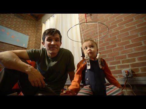 Daddy Engineer: Light-Up Baby Jumper | Design Squad
