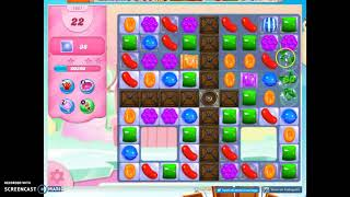 candy crush level 1061 audio talkthrough 1 star 0 boosters