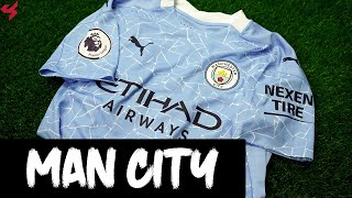 Puma Manchester City De Bruyne 2020/21 Authentic Home Jersey Unboxing + Review