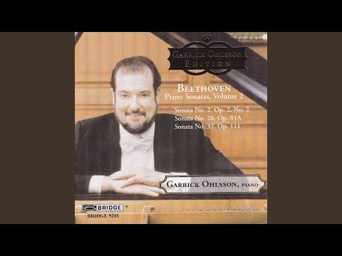 Piano Sonata No. 32 in C Minor, Op. 111: II. Arietta: Adagio molto, semplice e cantabile