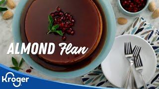 Almond Flan │VIDEO │Kroger