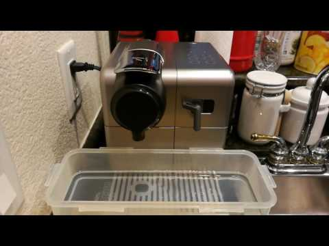 "(PART1) How to use ""Citric Acid"" clean Nespresso De'Longhi EN550 Espresso Maker."